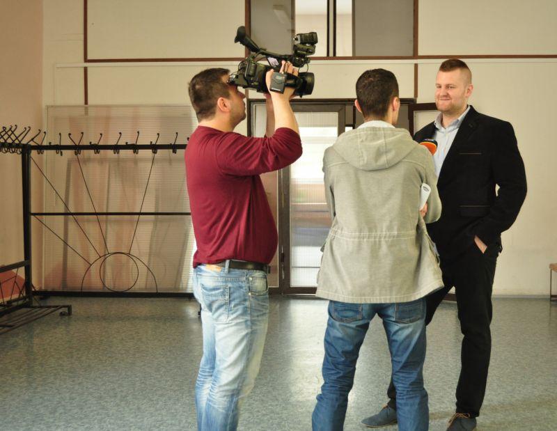 Udalosť zaujala aj médiá. Televízia Markíza vyspovedala nášho pracovného psychológa Ondreja Ivana.