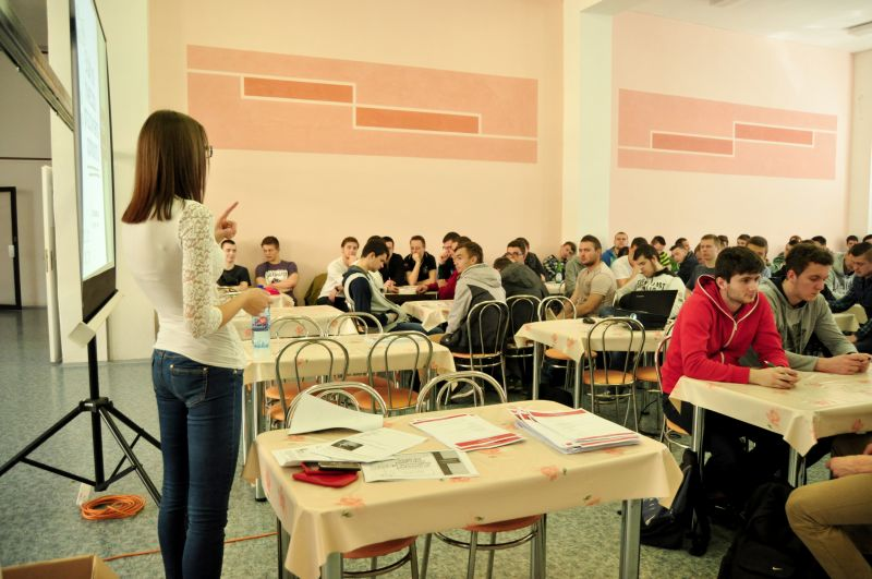 Prednáška pre študentov